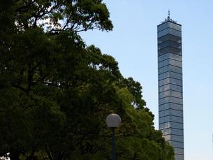 千葉海浜公園とポートタワーの写真素材 [FYI00271379]