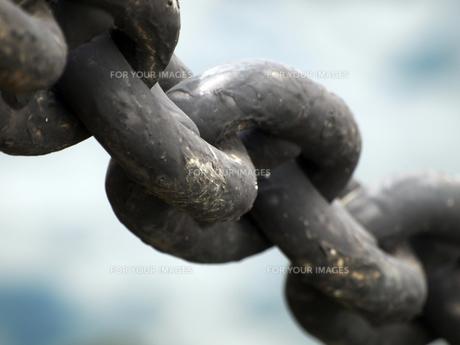 船の繋留用鎖の素材 [FYI00271381]