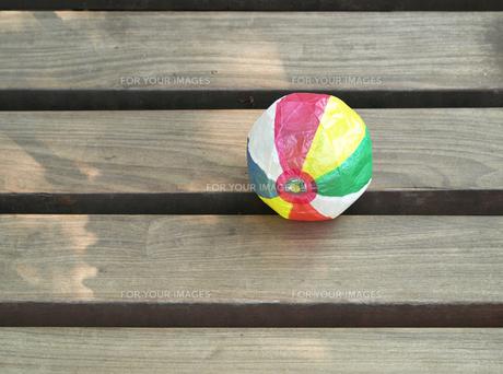 紙風船と公園の素材 [FYI00271453]