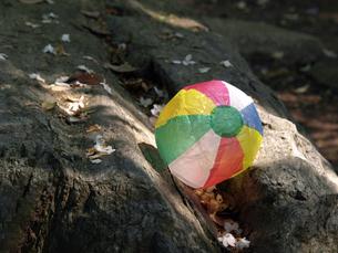紙風船と公園の素材 [FYI00271456]