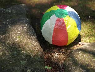 紙風船と公園の素材 [FYI00271462]