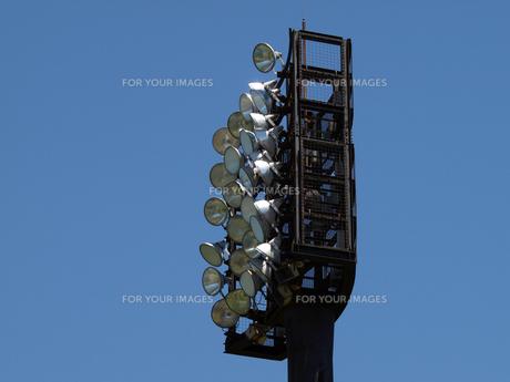 野球場の照明塔の素材 [FYI00271512]