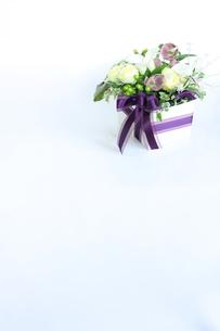 フラワーアレンジメントメント フラワーボックス の写真素材 [FYI00271562]