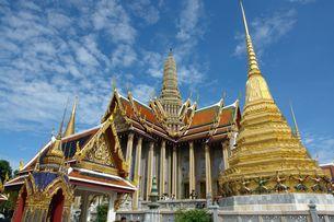 タイの寺院の写真素材 [FYI00271575]