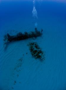 海底の飛行機の素材 [FYI00271587]