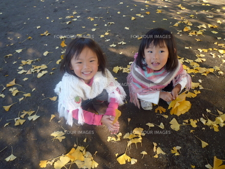 笑顔の女の子の素材 [FYI00271675]