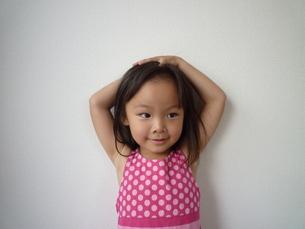 笑顔の女の子の素材 [FYI00271680]