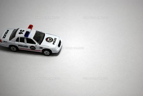 パトカーの写真素材 [FYI00271724]