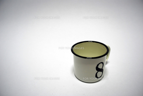 ほうろうのカップの写真素材 [FYI00271743]