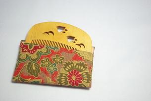 つげの櫛の写真素材 [FYI00272107]