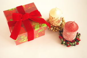 クリスマスのお楽しみの写真素材 [FYI00272165]