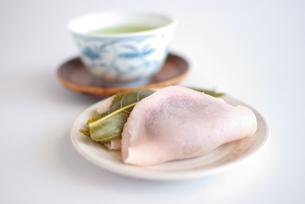 桜餅の写真素材 [FYI00272199]