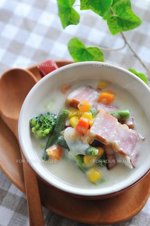野菜スープの写真素材 [FYI00273047]