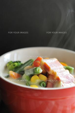 野菜スープの写真素材 [FYI00273049]