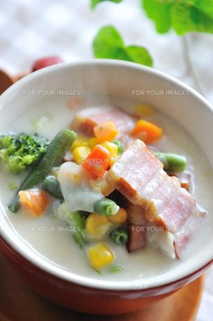 野菜スープの写真素材 [FYI00273062]