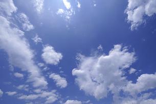 青空の写真素材 [FYI00273469]