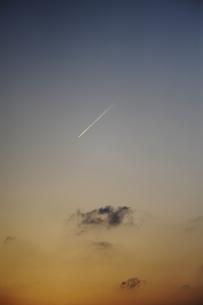 夕焼けの写真素材 [FYI00273544]