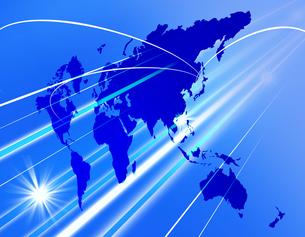 グローバルビジネスへの道の写真素材 [FYI00273713]
