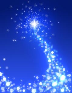 夜空の光の写真素材 [FYI00273764]