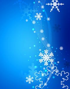 雪の結晶の写真素材 [FYI00273786]