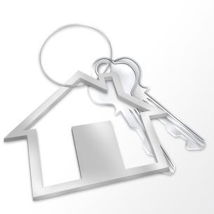 住宅の鍵の写真素材 [FYI00273794]