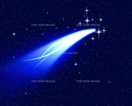流れ星の写真素材 [FYI00273805]