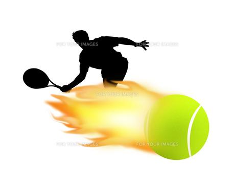 テニスの写真素材 [FYI00273814]