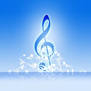 音楽の写真素材 [FYI00273852]