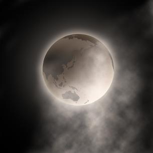 不気味な地球の写真素材 [FYI00273864]