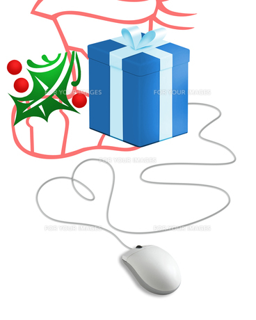 クリスマスプレゼントの写真素材 [FYI00273917]