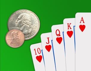 ギャンブルの写真素材 [FYI00273927]