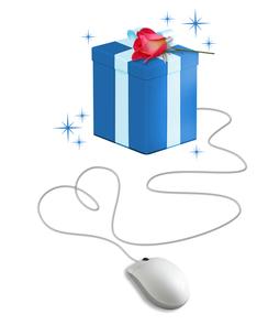 クリスマスプレゼントの写真素材 [FYI00273937]