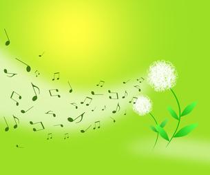 春の音楽の写真素材 [FYI00273940]
