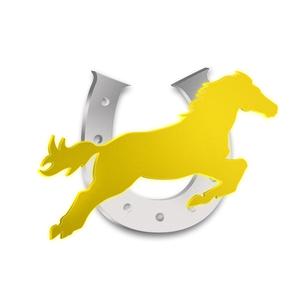 馬と蹄鉄の写真素材 [FYI00273971]