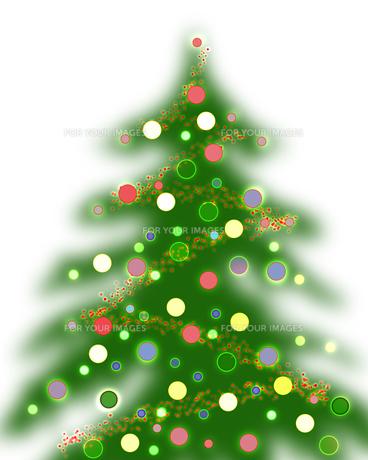 クリスマスツリーの素材 [FYI00273992]
