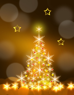 クリスマスツリーの写真素材 [FYI00274068]