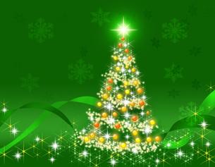 クリスマスツリーの写真素材 [FYI00274072]