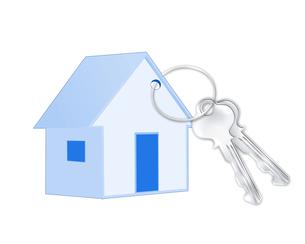 家の鍵の写真素材 [FYI00274087]