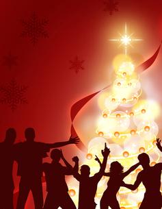 クリスマスパーティーの写真素材 [FYI00274224]