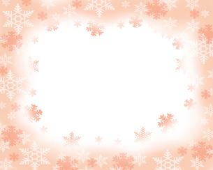 雪のフレームの写真素材 [FYI00274272]