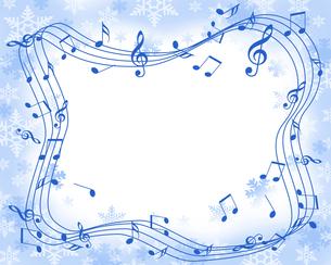 クリスマス音楽の写真素材 [FYI00274273]