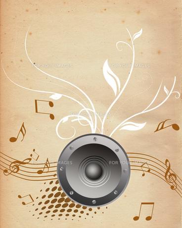 音楽の写真素材 [FYI00274288]