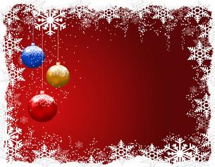 クリスマスボールの写真素材 [FYI00274294]