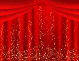 ステージカーテンの写真素材 [FYI00274335]