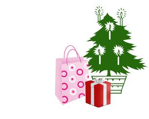 クリスマスプレゼントの写真素材 [FYI00274351]
