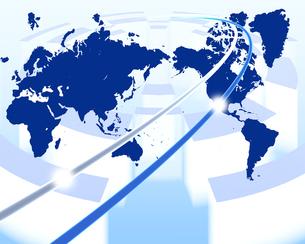 グローバルネットワークの写真素材 [FYI00274440]
