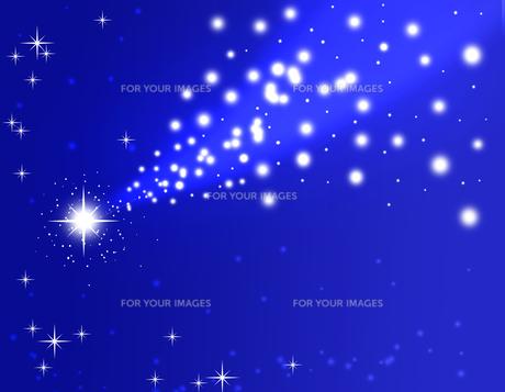 流れ星の写真素材 [FYI00274507]