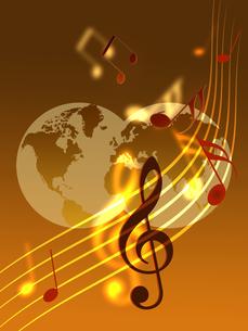 世界の音楽の写真素材 [FYI00274572]