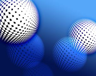 複数の球体の写真素材 [FYI00274575]