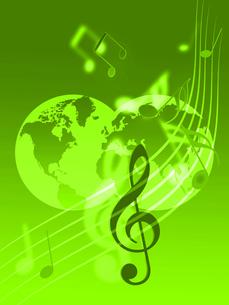 世界の音楽の写真素材 [FYI00274581]